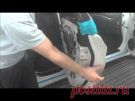 Painting of the Car Masking under painting