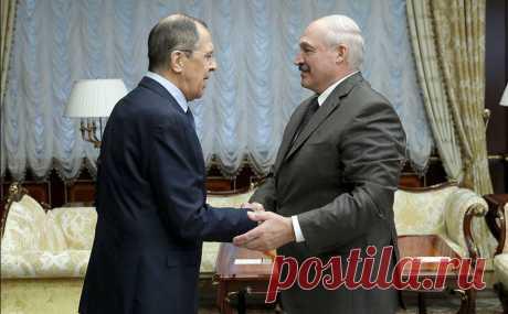 Встреча Лаврова и Лукашенко в Минске | world pristav - военно-политическое обозрение
