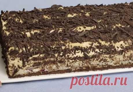 Торт без запекания: печенье, вишня и 15 минут - Steak Lovers - медиаплатформа МирТесен