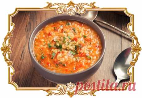 Чечевичный суп с говядиной  Полезным и вкусным получается суп на бульоне из говядины с чечевицей. Для варки супа выберем красную чечевицу, она готовится достаточно быстро.  Ингредиенты: Показать полностью…