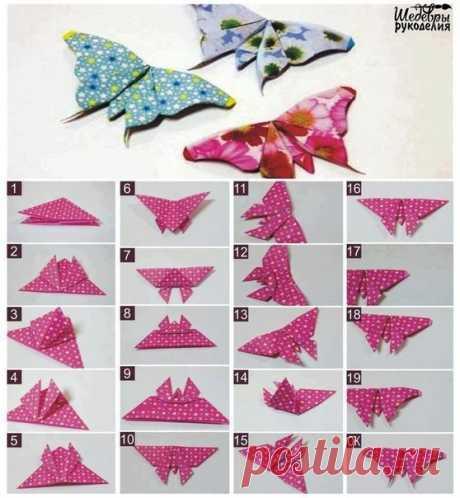 Las mariposas del origami \ud83c\udf38 \/ Zapadlo
