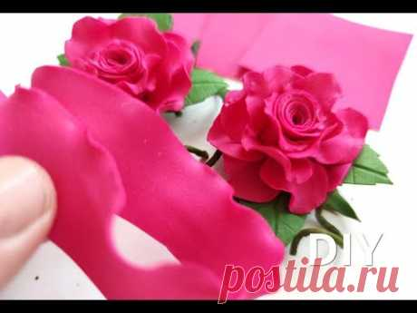 Розочки Малютки🥰 Быстро Просто Красиво 👌DIY Rose Flower Foam Paper/ Flores de Eva foamy🌸🌸🌸🌸🌸