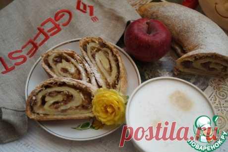 Вертуха с яблоками – кулинарный рецепт