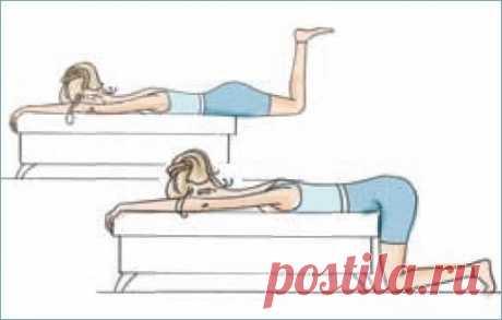 Комплекс упражнений «Здоровая спина» — Красота и здоровье