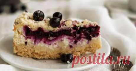 Пирог с творогом и смородиной #школа Автор рецепта Анна Пирог с творогом и смородиной #школа - пошаговый рецепт с фото. Очень простой, быстрый, и главное - вкусный пирог.