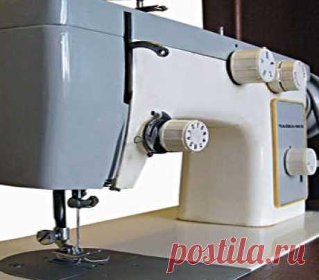 Швейная машинка Чайка   Ремонт и настройка швейной машины Чайка