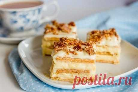 Сметанный тортик из печенья — Sloosh – кулинарные рецепты