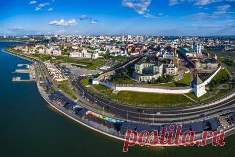 Чистополь с высоты. Июль 2019.: zdorovs — LiveJournal
