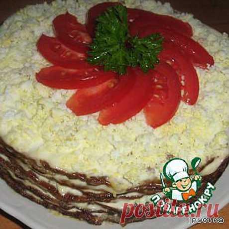 Торт печеночный - кулинарный рецепт