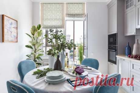 Двухкомнатная квартира, 74 м2 Дизайн: Светлана Иванова Смотреть полностью: