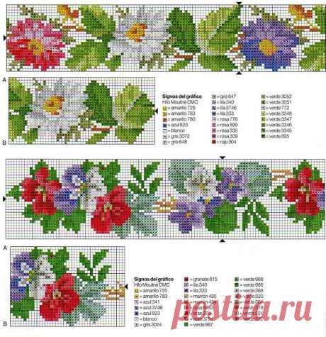узоры из бисера схемы - 348 тыс. картинок. Поиск Mail.Ru