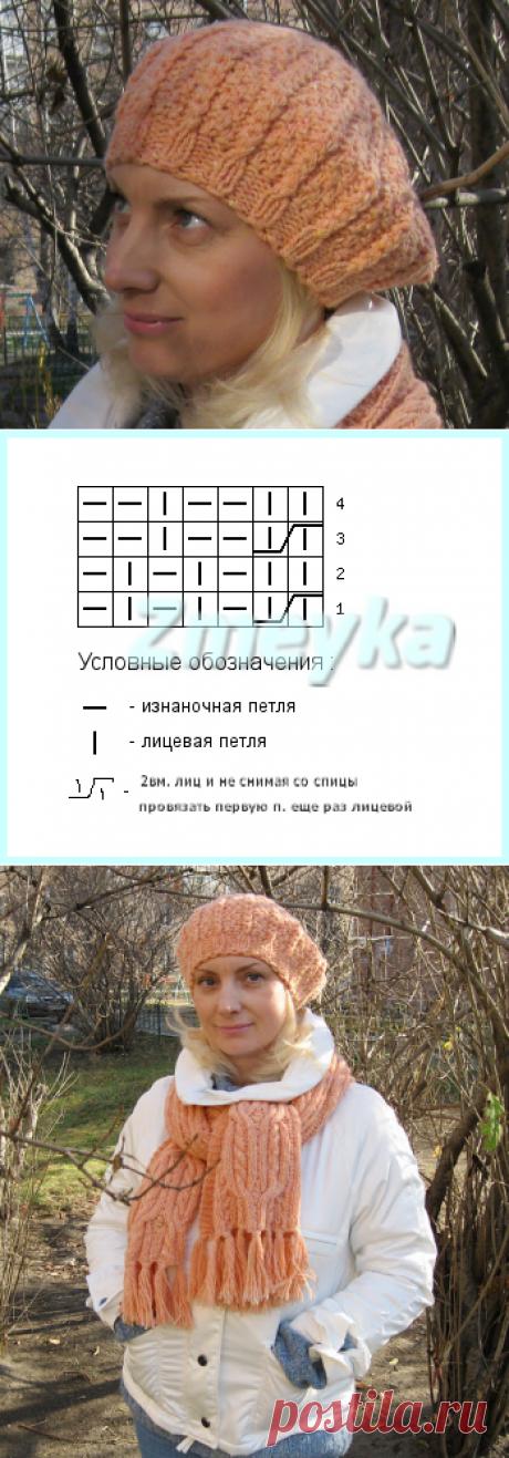 Из Сибири...: Берет 17 ДОЛЕК автор Виктория Змейка