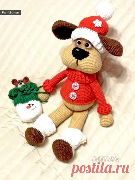 Новогодний Полкаша / Вязание игрушек / ProHobby.su | Вязание игрушек спицами и крючком для начинающих, мастер классы, схемы вязания