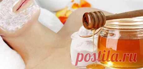 Как сделать нежный скраб для лица из соды и меда