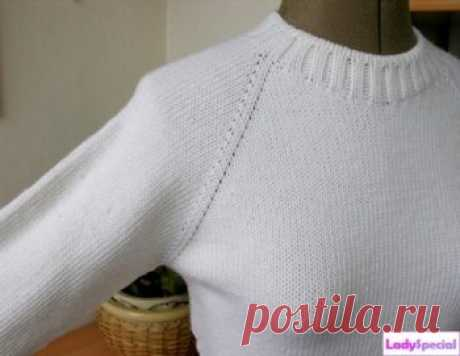 How to knit a raglan - all the hands