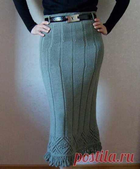 Как связать юбку спицами (5 вариантов с описанием) | Рукоделие