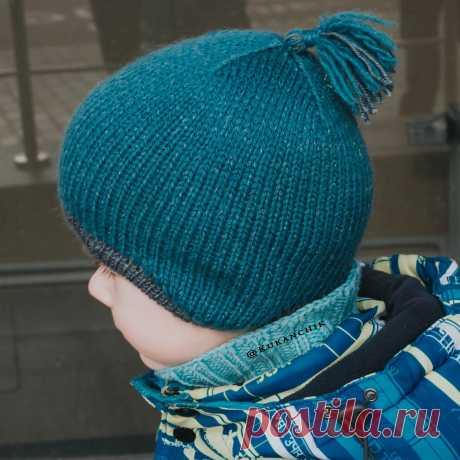 Как связать детскую анатомическую шапку   Ксения Kukanchik   Яндекс Дзен