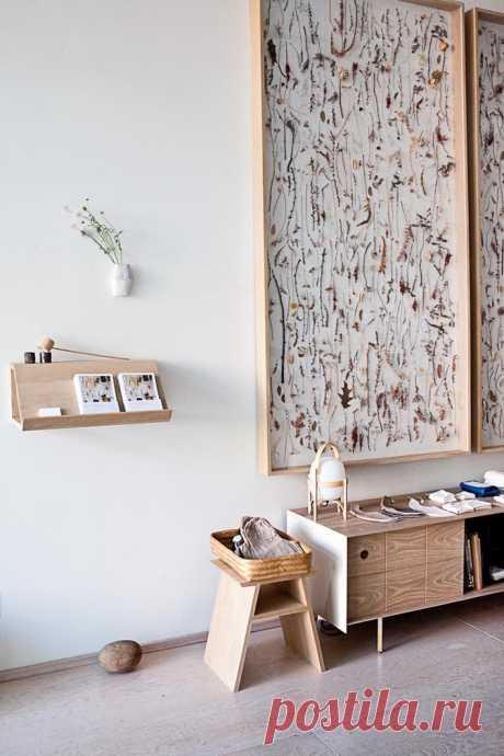 Мебель с сухими цветами - Living Курьер