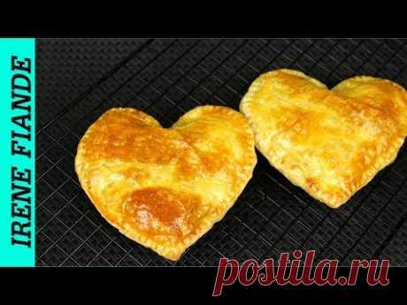 Самые вкусные Пирожки с курицей и грибами ко Дню святого Валентина