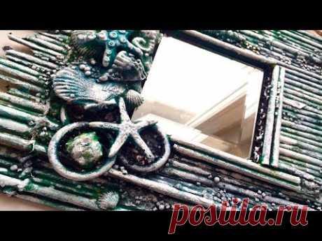 Diy Wall Mirror Decor | Wall Decorating Idea! - YouTube