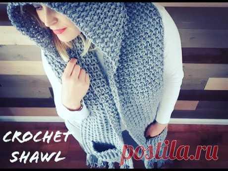 HOW TO CROCHET SHAWL / HOOH POCKETS