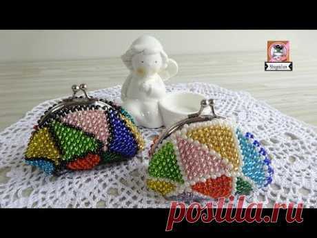 (13) Monedero Multicolor a CROCHET - YouTube