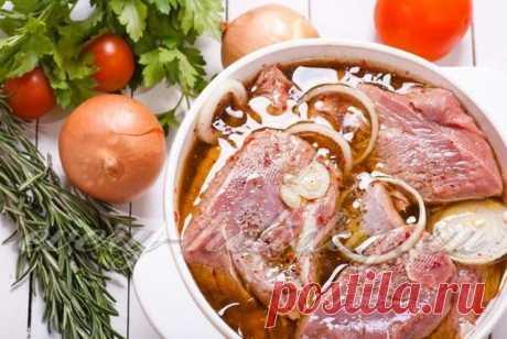 Как замариновать стейк из свинины, маринады для гриля