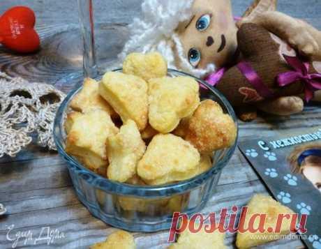 Творожное печенье. Ингредиенты: творог 5%, мука, сахар | Официальный сайт кулинарных рецептов Юлии Высоцкой