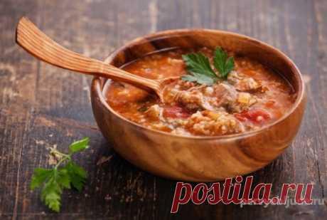 Суп харчо на зиму, домашняя заготовка Готовим домашнюю заготовку - суп харчо на зиму с рисом. Вкусная и ароматная заготовочка, из которой получается отличный и вкусный суп харчо с рисом.