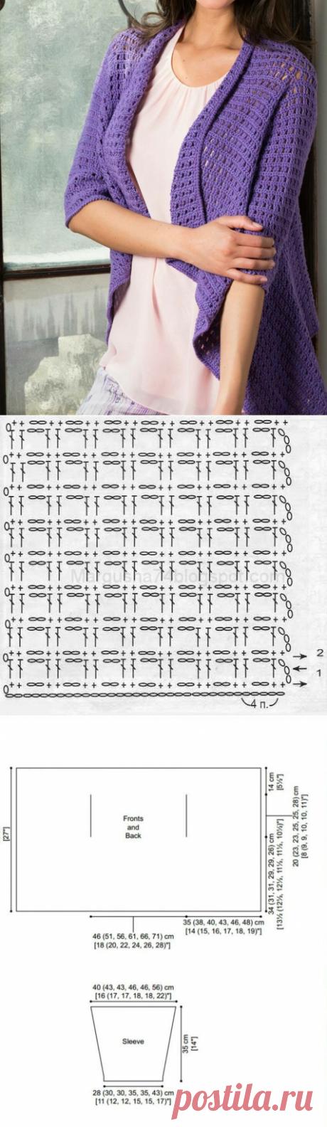 Красивые кофточки крючком( со схемами вязания) идеи и вдохновение | Мари Лу | Яндекс Дзен