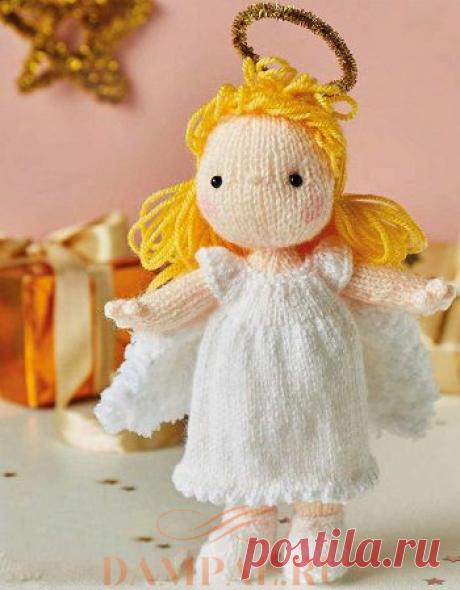 Вязаный ангел «Gabriella»