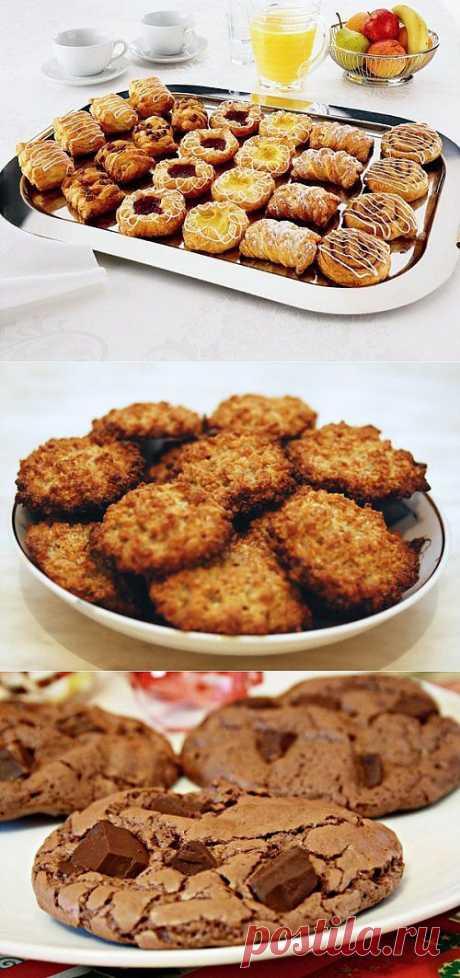 Домашнее печенье – отличное угощение! / Простые рецепты