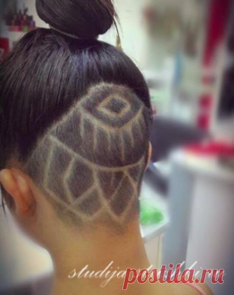 Hair Tattoo, художественный выстриг волос   Стрижки и Прически