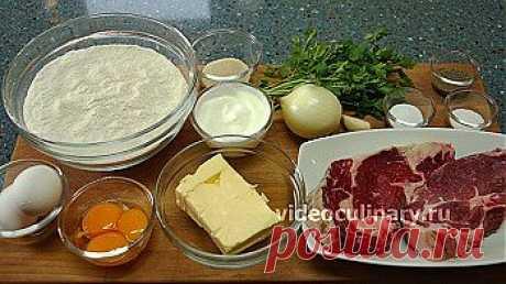 Бабушкины пирожки с мясом - Видеокулинария.рф - видео-рецепты Бабушки Эммы | Видеокулинария.рф - видео-рецепты Бабушки Эммы