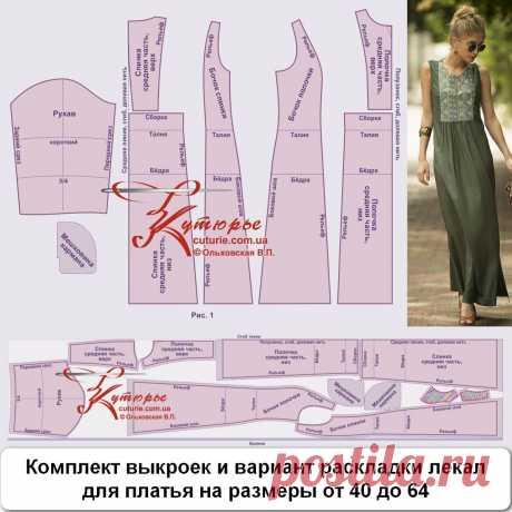 Платье в стиле бохо своими руками по готовой выкройке платья трапеция с рельефом  на талии. Раскрой выполняется в два этапа. Для платья из этого мк потребуется ткань длинной 1,05 м в длину, шириной 1,55м (получается 2 полотна). Показать полностью... Выкройку платья можно построить самостоятельно или воспользовавшись этой выкройкой на сайте https://www.osinka.ru/Zhurnaly/2010/burda/universe/slides/..