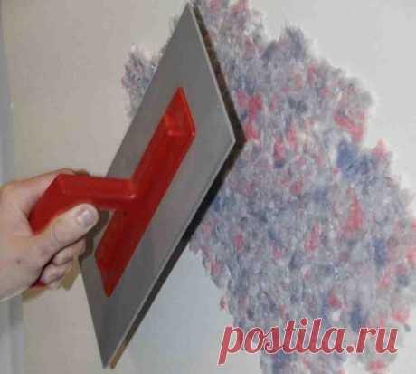Как наносить жидкие обои на деревянную стену, штукатурку и другие поверхности | Obustroeno.Com