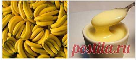 От першения в горле и кашля :  измельчить очищенный банан, растереть до состояния однородной кашицы, добавить 2-3 ч.л.какао. Эту смесь залить чашкой горячего молока и тщательно перемешать, добавив по вкусу сахар, но лучше мед (если не аллергии на него).
