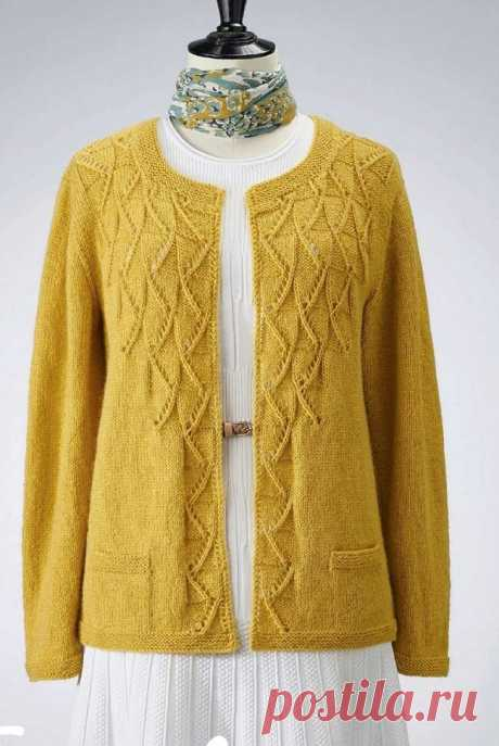 Без вязаного жакета мы как-будто не одеты...🤷♀️   Asha. Вязание и дизайн.🌶   Яндекс Дзен