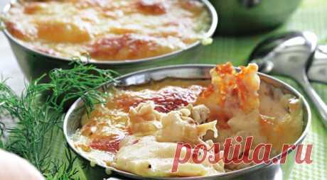 Куриный жюльен с грибами, пошаговый рецепт с фото
