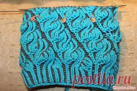 Моя шапочка в технике Brioche Stitch - Вязание - Страна Мам
