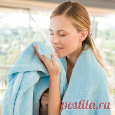Что делать, если полотенце плохо пахнет после стирки