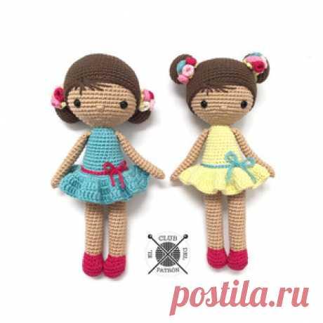 Куколка Хлоя амигуруми. Схемы и описания для вязания игрушек крючком! Бесплатный мастер-класс по вязанию очень милой куколки по имени Хлоя от La Crocheteria. Куколка имеет невысокий рост и несъемное платье, что облегчает…