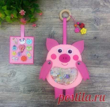 Ich Spy Bag Schwein Schwein-Geschenk für Kinder Auto-Spiel | Etsy