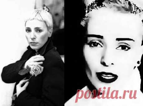Jeanne Aguzarova - la Cantante. El autor de los textos. El compositor. El arreglista. La Imagen-estilista. El productor.