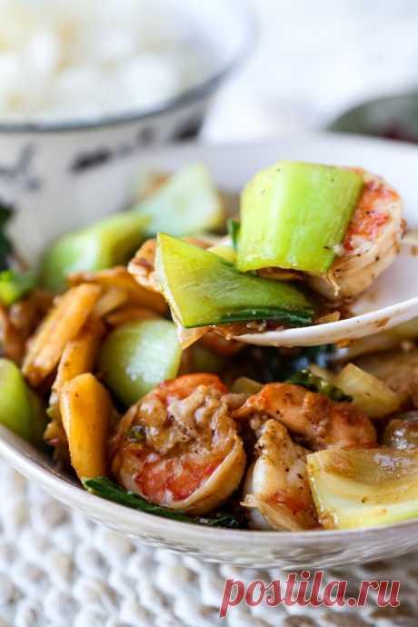 Креветки в соусе жареные, сочные хрустящие - выбираем на свой вкус!