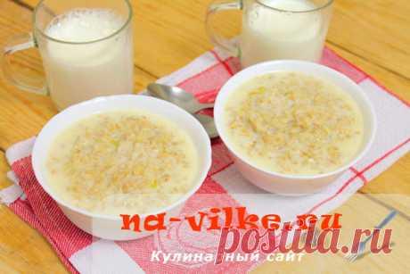Овсяная каша в мультиварке на молоке – рецепт для Редмонд