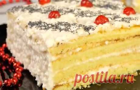 Смачним домашнім тортик «Три склянки» Представляємо вашій увазі рецепт смачного тортика, який сподобається абсолютно всім. Він просто мега легкий в приготуванні.