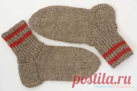 Планета Вязания   Вязание носков спицами. Пособие для начинающих