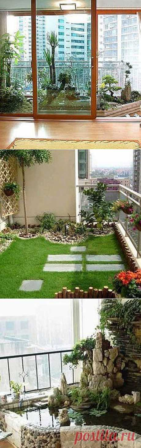 Дизайн балкона: домашний сад на балконе - Учимся Делать Все Сами