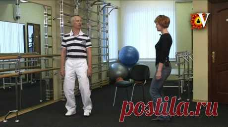 Упражнения от многих болезней врача-реабилитолога Петра Попова